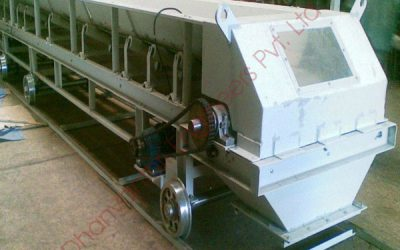 Corrugated Side Walled Belt Conveyor