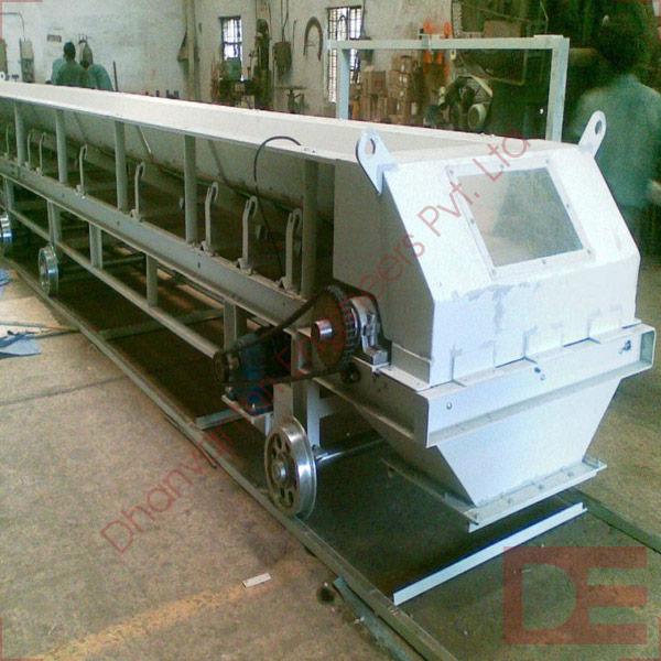 Corrugated Side Walled Belt Conveyor