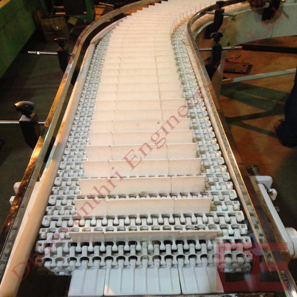 Plastic Modular Belt Conveyor