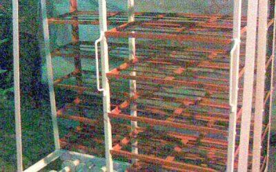 Intelligent Storage Rack Trolleys