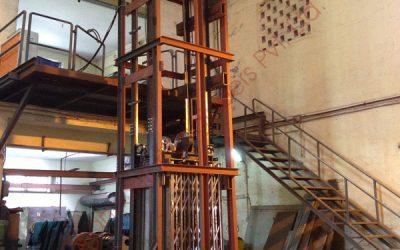 Hoist type Cage Goods Lift