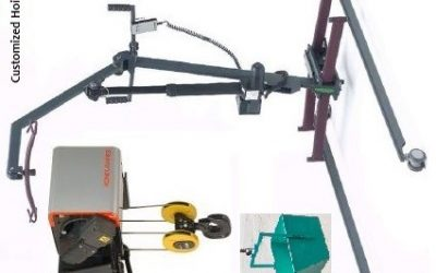 Hoist – Bucket /Pneumatic / Hydraulic / Fiber Rope / Jib System