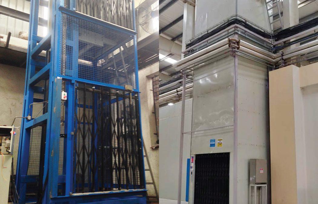 VRCs & Material Lifts