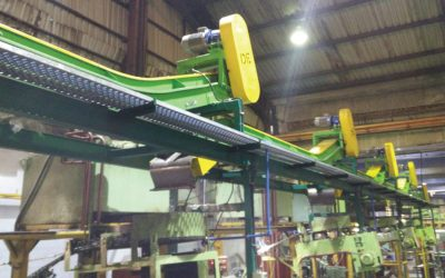 Coil Ends Shearing Discharge Conveyors