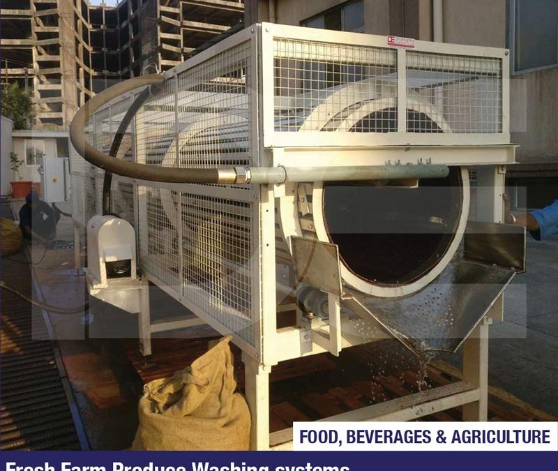 Fresh Farm Produce Washing systems