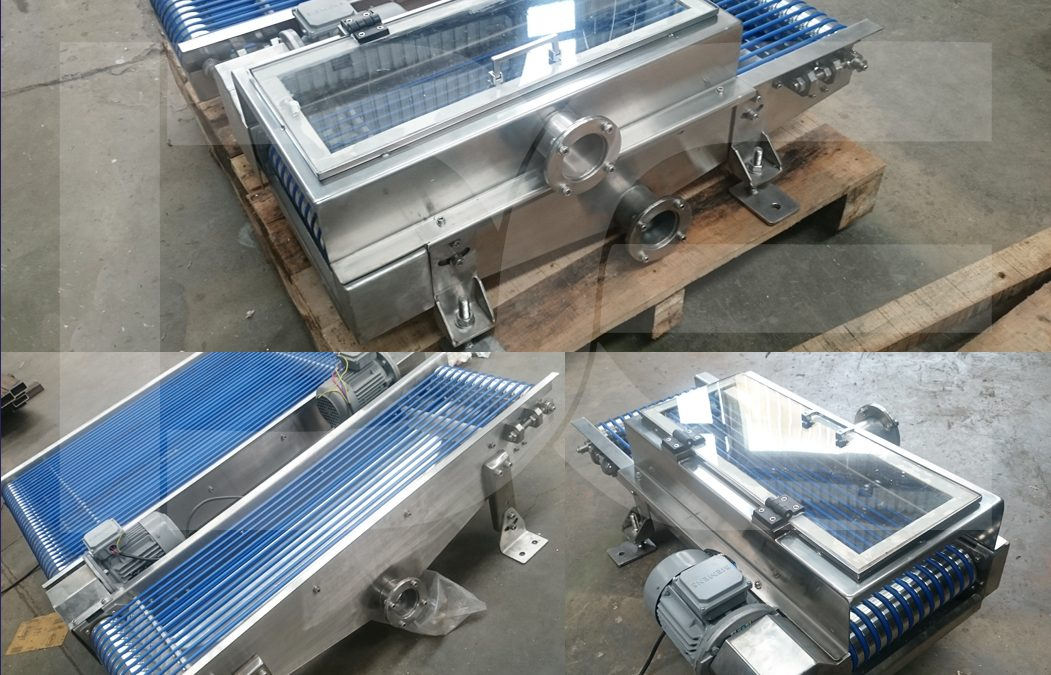 Pouch Packing Machines to secondary packing to warehouse