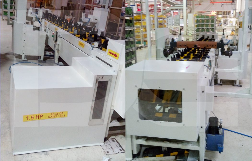Front Axle Assembly Machine