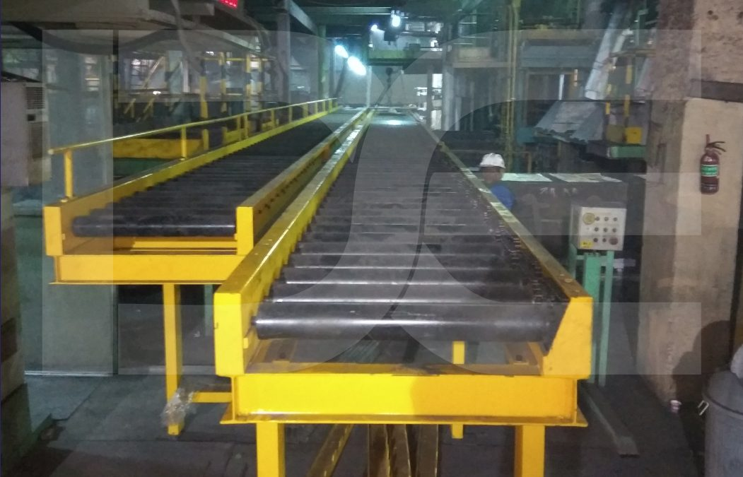 Foundry Soft Core Pallet Conveying